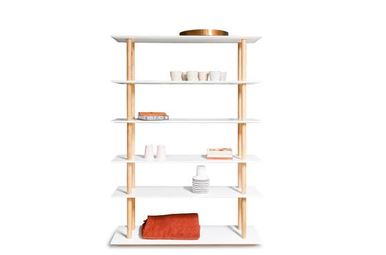 Tennö bookshelf Clipped