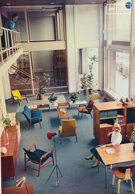 The 50s - 60s are considered the heyday of furniture and interior design