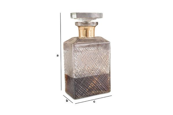 Product Dimensions The Harvey decanter