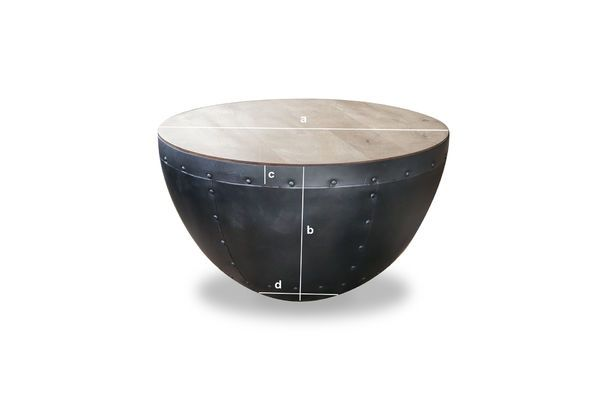 Product Dimensions The Lewis coffee table