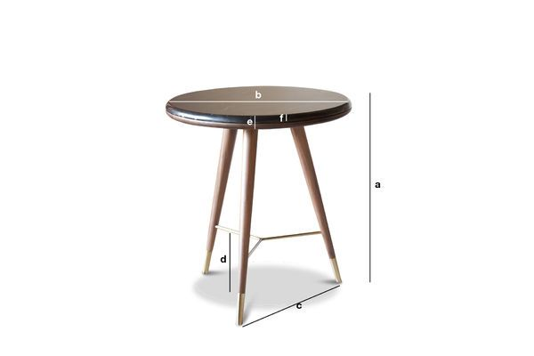Product Dimensions The Sivärt sofa end table