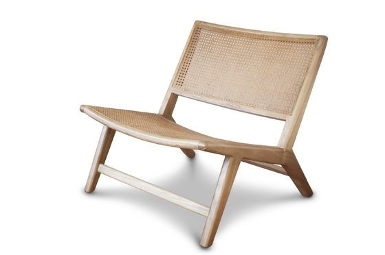 Thisted cane armchair Clipped