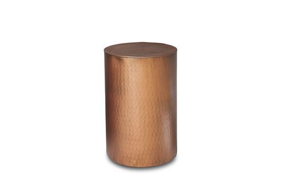 Thomson copper side table Clipped