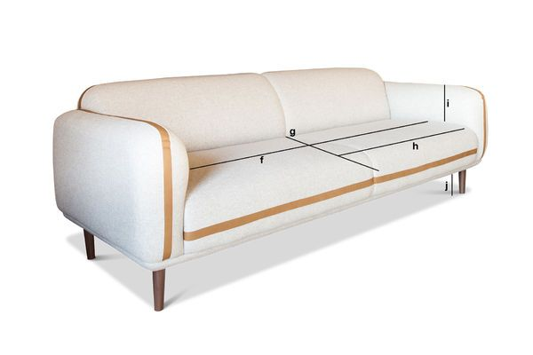 Product Dimensions Three Seater Sofa Britta