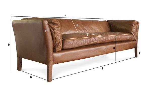 Product Dimensions Three seater sofa Hamar