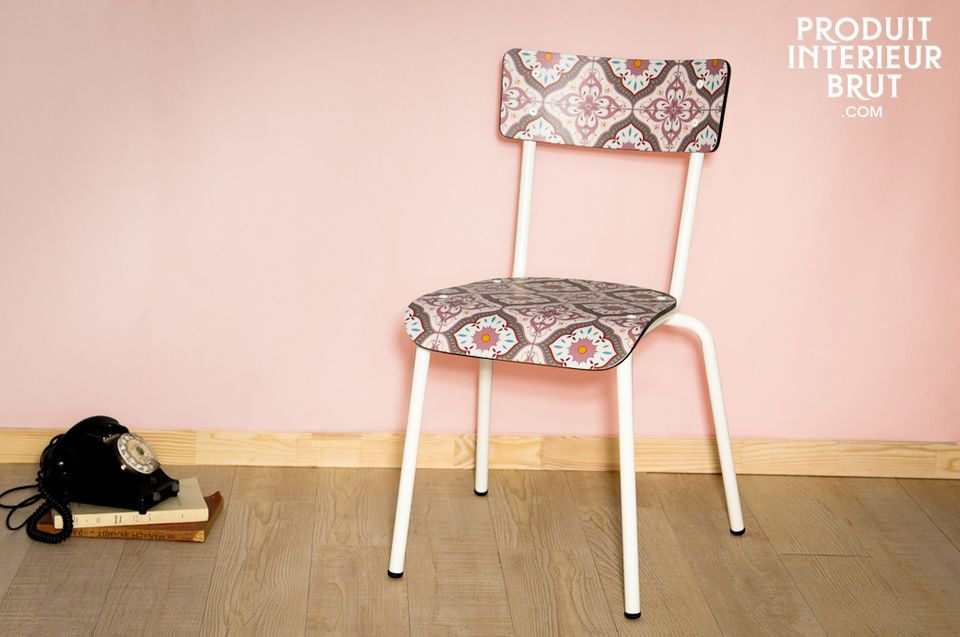 Tile Pattern Gambettes chair