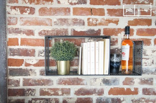 Tograx metal wall shelf