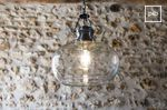 Transparent hanging light