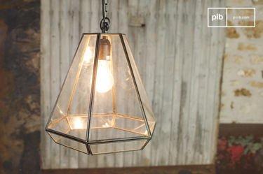 Trapèze Glass Pendant Light