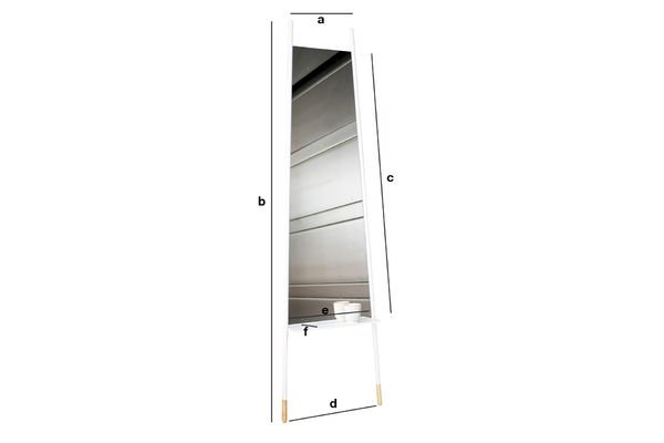 Product Dimensions Trapisa Mirror