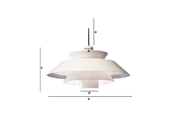 Product Dimensions Trebäl Pendant light