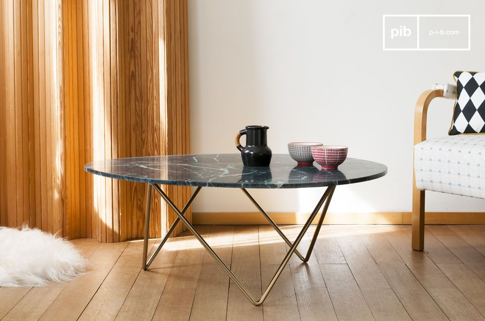 Trivisan marble coffee table