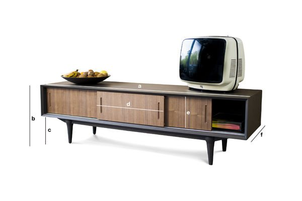 Product Dimensions Tumma Fjord TV Console