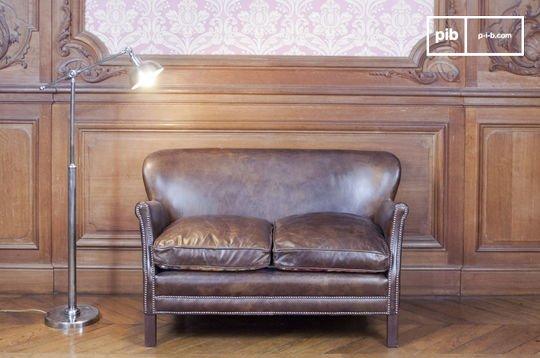 Turner leather sofa