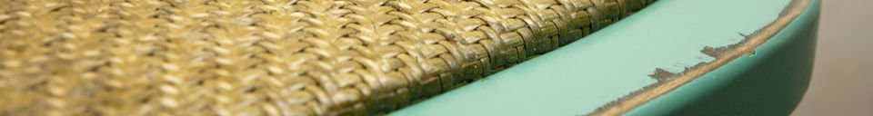 Material Details Turquoise chair Pampelune