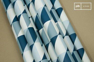 Turquoise Skive wallpaper