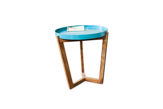 Turquoise Stockholm Table Clipped