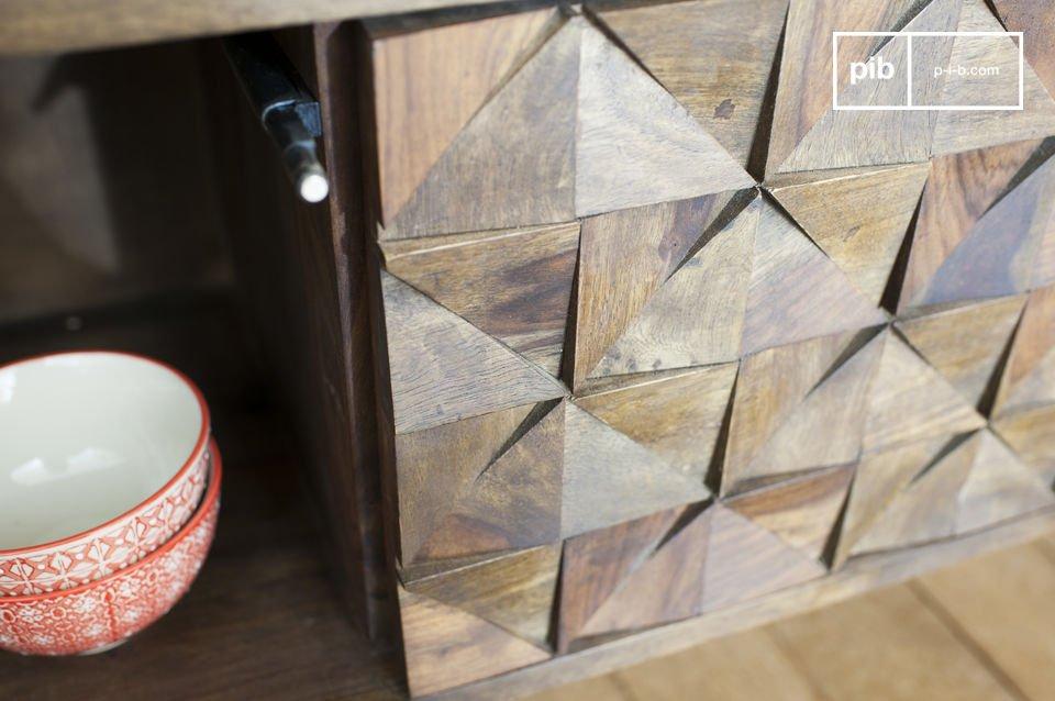 Combining dark wood