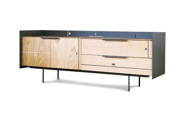Product Dimensions TV stand Jackson