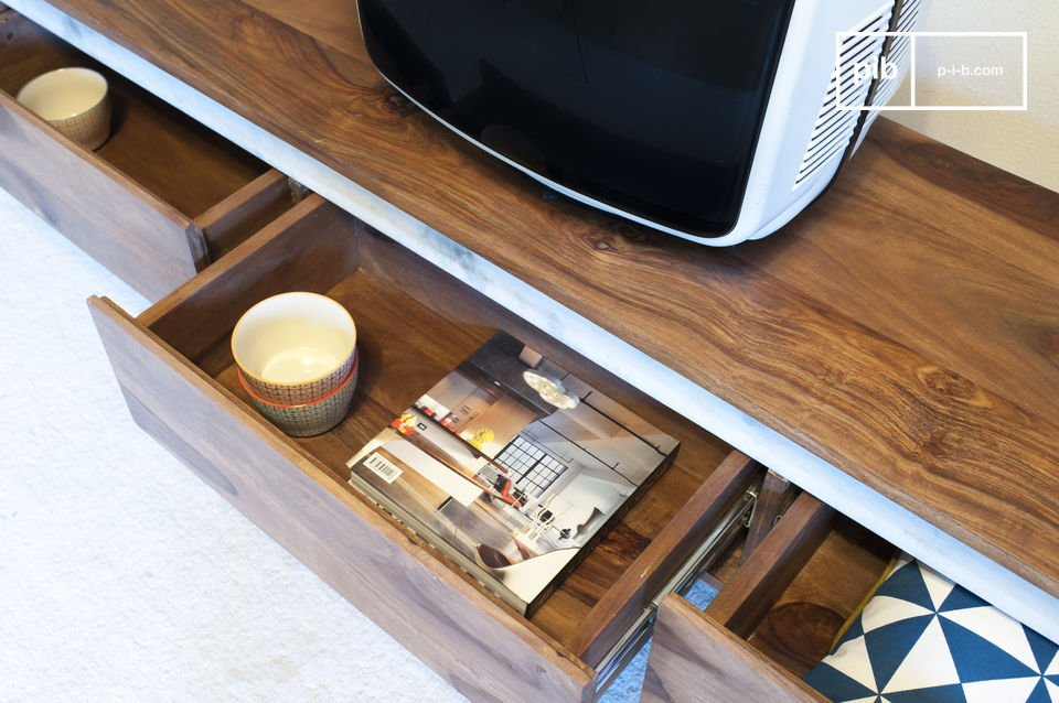 This is the reason why this TV stand will be your main decoration