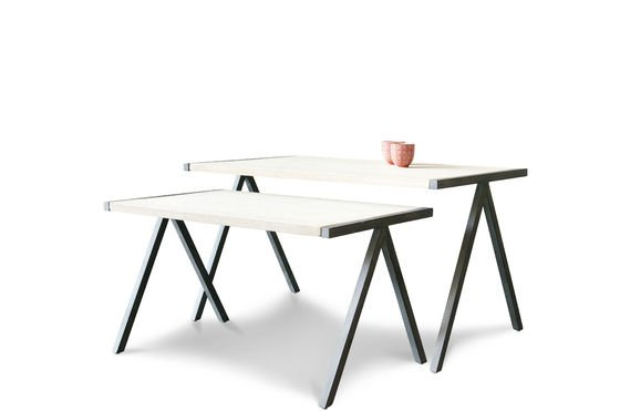Two-part Arlanda coffee table Clipped