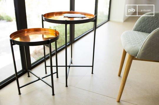 Two-piece Lloyd table