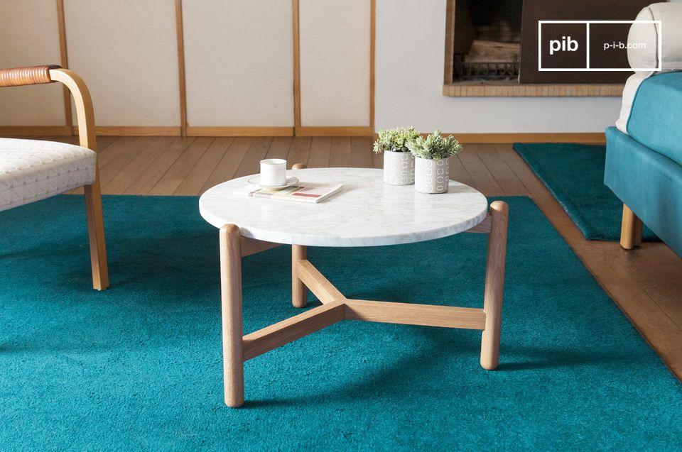 The Västra coffee table displays smooth