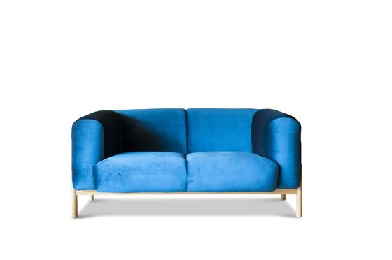 Velvet sofa Viela Clipped