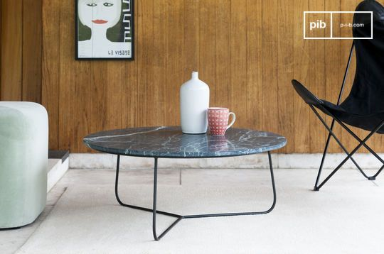 Vertü marble coffee table