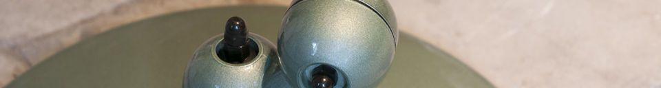Material Details Vespa green Jieldé loft lamp