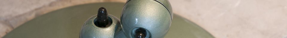 Material Details Vespa green standard Jieldé loft lamp