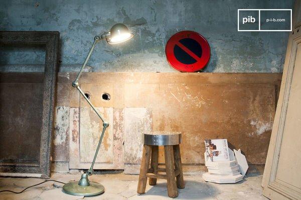 Vespa Green Standard Jieldé Loft Lamp
