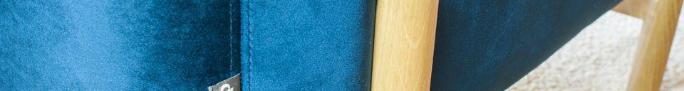 Material Details Viela Velvet Armchair