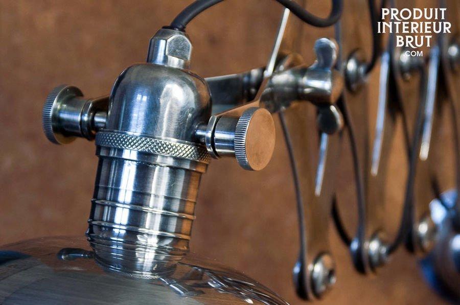 Vintage design industrial wall lamp