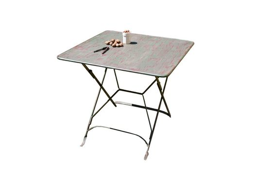 Vintage style folding table Clipped
