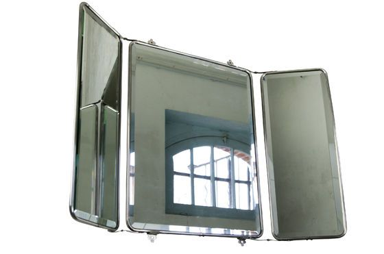 Wall mirror with flaps Clipped