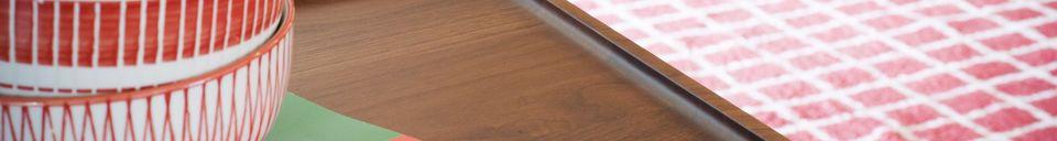 Material Details Walnut Coffee table Hemët