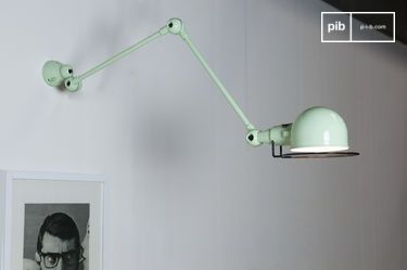 water green Jielde Signal wall lamp