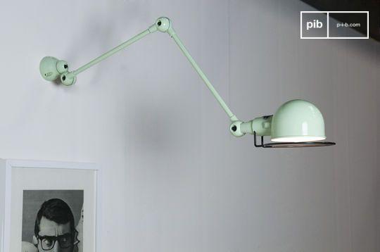water green Jielde Signal wall lamp