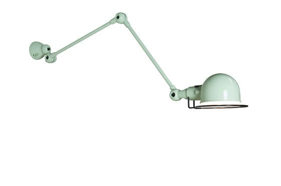 water green Jielde Signal wall lamp Clipped