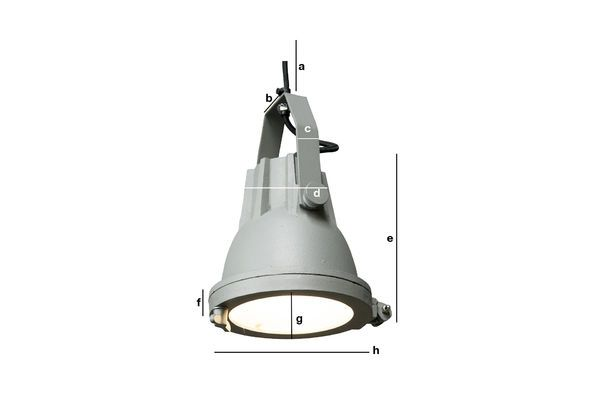 Product Dimensions Weissmuller Cast Hanging Light