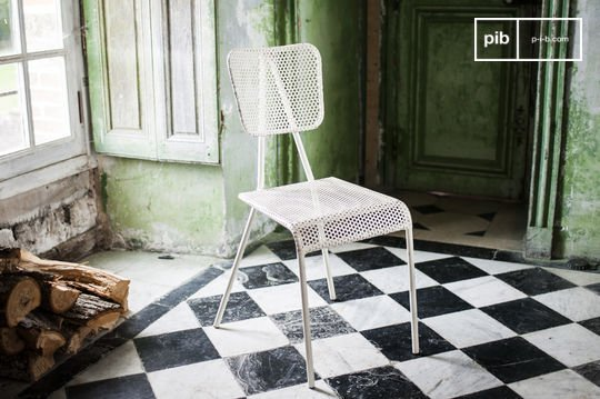 White chair Métalo