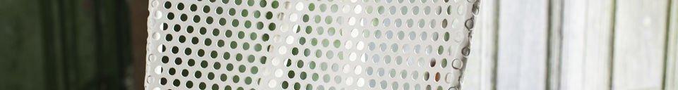 Material Details White chair Métalo