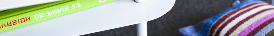 Material Details White Holly Coffee Table