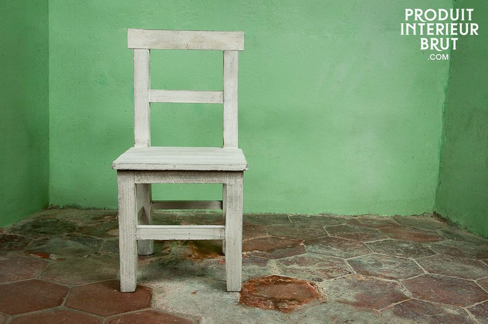 Charming little painted chair