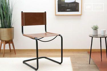 Whitechapel leather chair