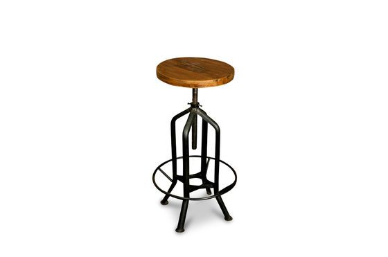 Wild West swivel bar stool Clipped