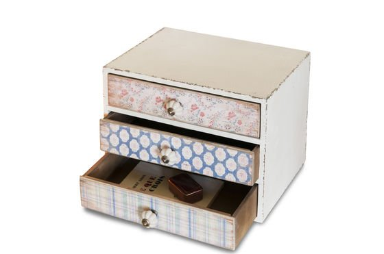 Wildflowers mini chest of drawers Clipped