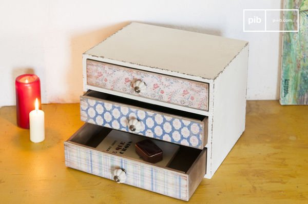 WILDFLOWERS MINI CHEST OF DRAWERS