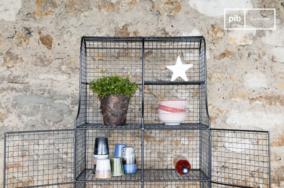 Sleek design and practical, the Wire mesh cabinet Ontario definitely has nothing to hide